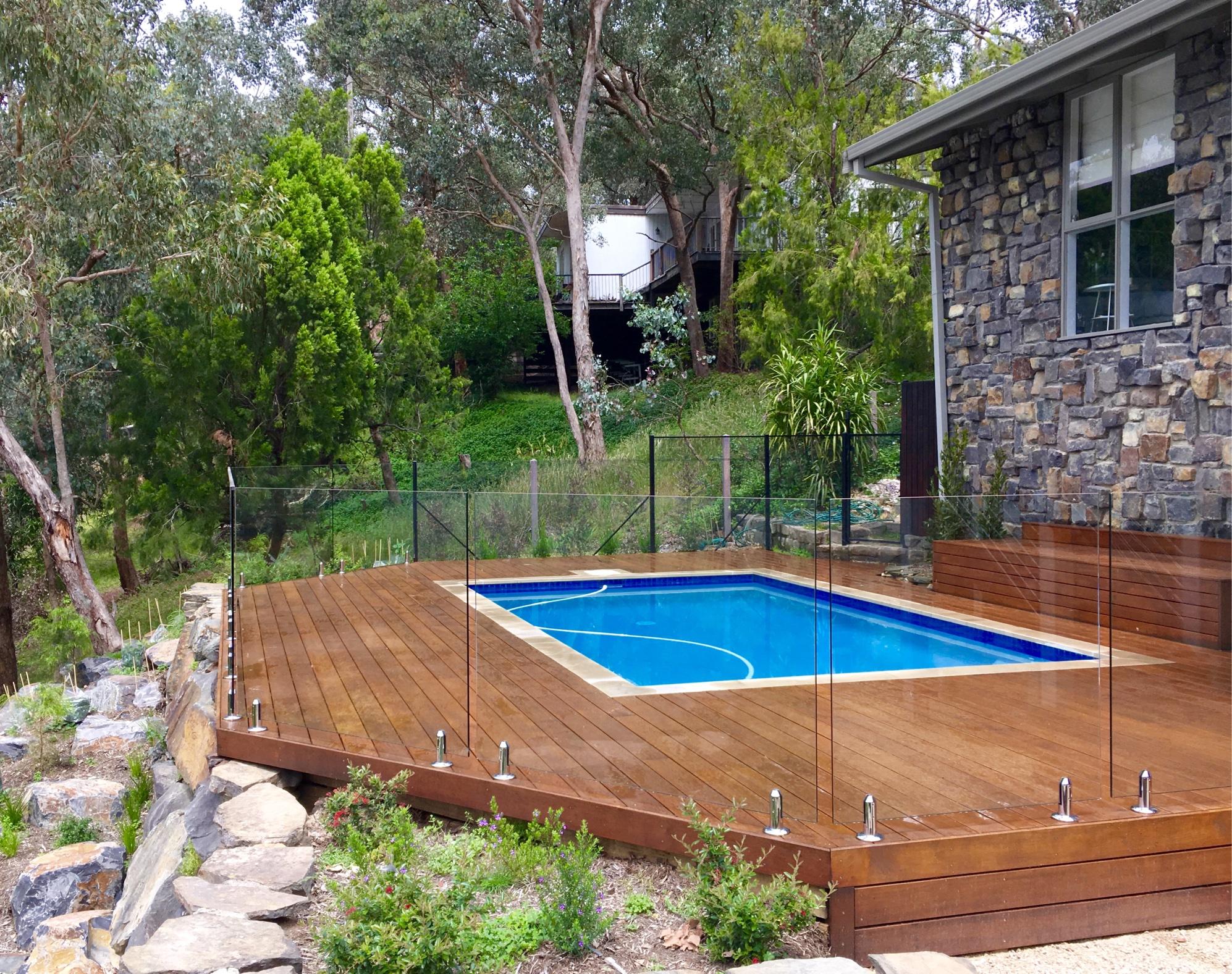 pool deck boca